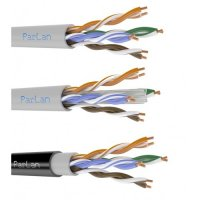 Кабель ParLan™ UTP cat 5e PVC, внутренний.