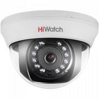 Видеокамера HiWatch DS-T101, HD-TVI, 1 Мп, для помещений.