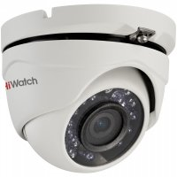 Видеокамера HiWatch DS-T123 HD-TVI, 1 Мп, антивандальная.
