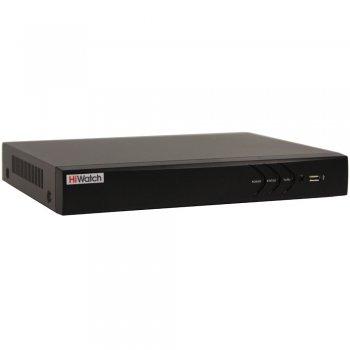 Видеорегистратор HiWatch DS-N316/2(B), 16 каналов, сетевой.