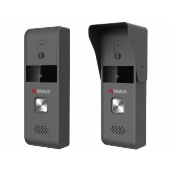 Видеодомофон HiWatch DS-D100K (комплект: вызывная панель+видеопанель)